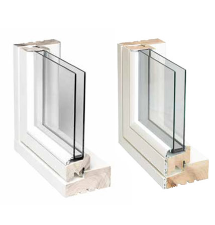 Composite Timber & Aluminium Windows